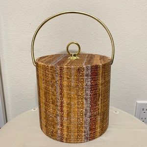 Vintage mcm ice bucket